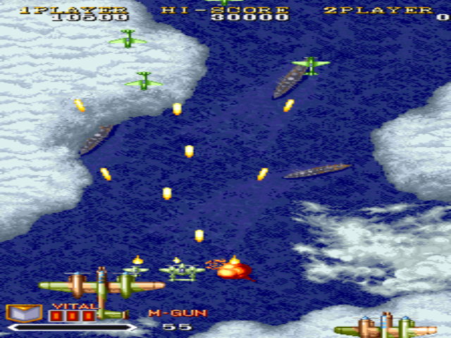 Aero Fighter 3 (Sonic-Wing-3) - Game Dingdong