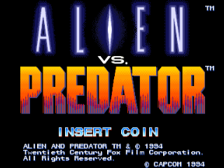 Screenshot Thumbnail / Media File 1 for Alien vs. Predator (USA 940520)