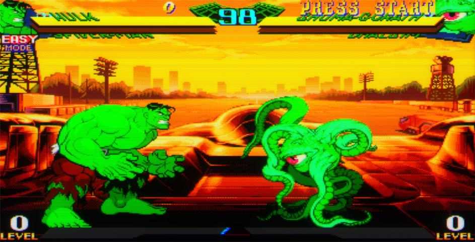 Marvel Super Heroes Vs. Street Fighter (Japan 970625) ROM