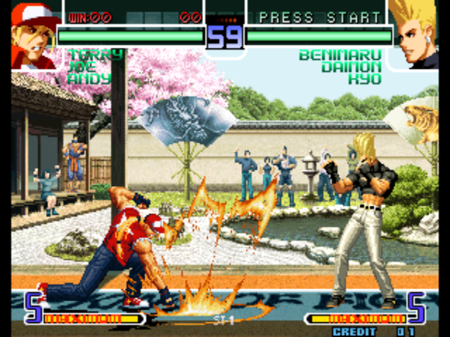 free games king of fighters 2002