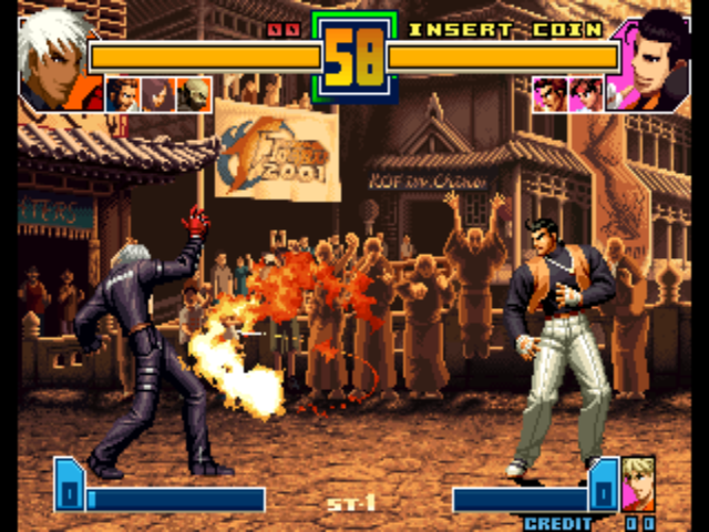 The king of fighters 2002 rom