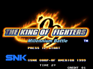 Screenshot Thumbnail / Media File 1 for The King of Fighters '99: Millenium Battle (Non Encrypted)