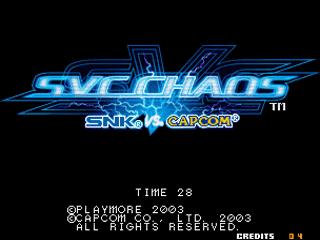 Screenshot Thumbnail / Media File 1 for SNK vs. Capcom: SVC Chaos