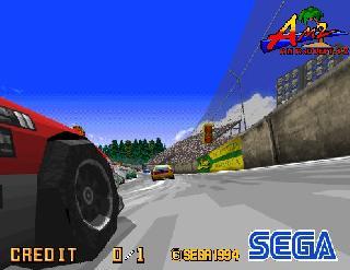 Screenshot Thumbnail / Media File 1 for Daytona USA (Japan, Revision A)
