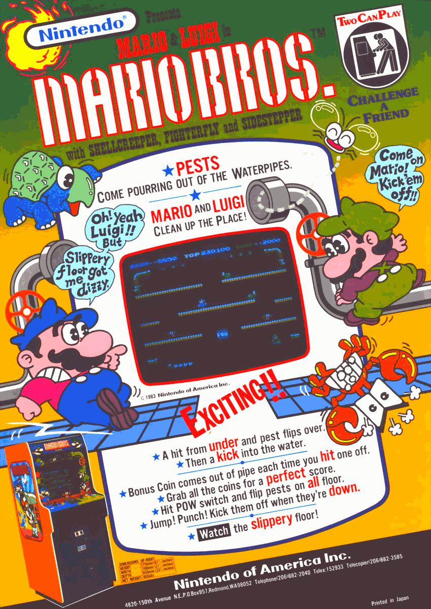 Mario Bros Japan Rom