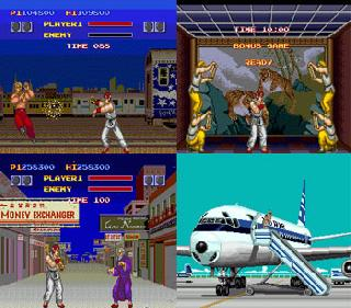 Screenshot Thumbnail / Media File 1 for Fighting Street (NTSC-J)