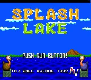 Screenshot Thumbnail / Media File 1 for Splash Lake (NTSC-J)