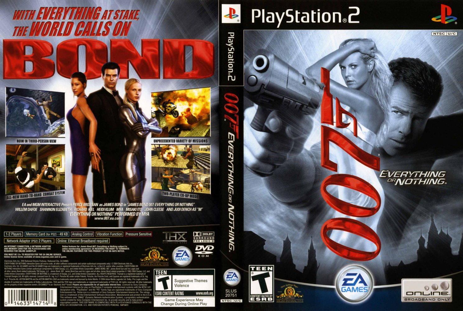 PS2 Cheats  Everything or Nothing Wiki Guide  IGN