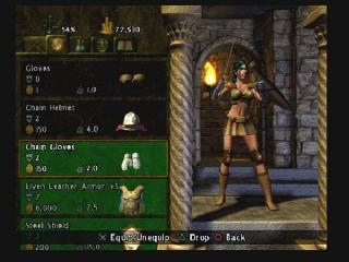 Screenshot Thumbnail / Media File 1 for Baldur's Gate - Dark Alliance II (USA)