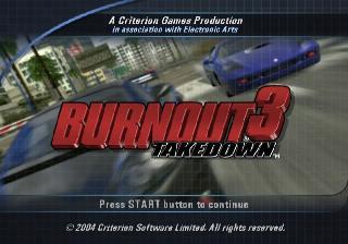 Screenshot Thumbnail / Media File 1 for Burnout 3 - Takedown (USA)