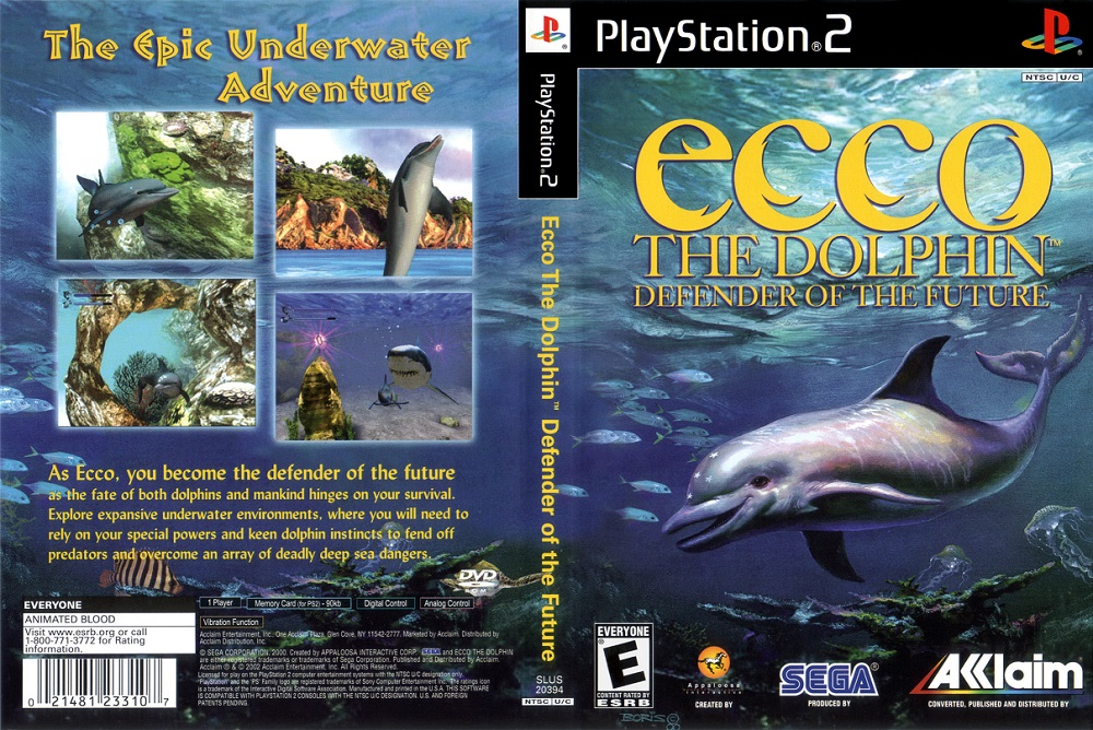 ecco the dolphin defender of the future play online