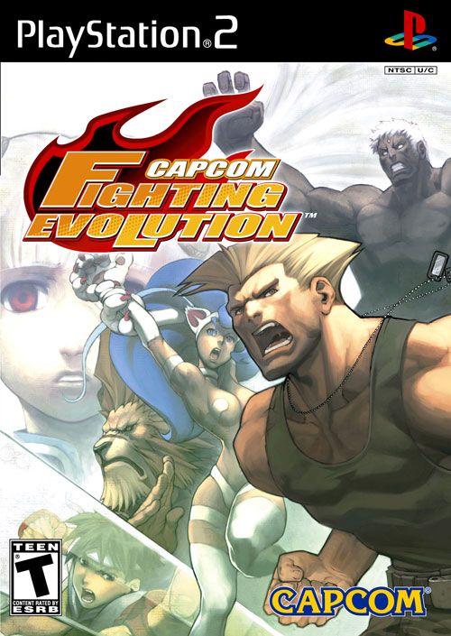Capcom Fighting Evolution Usa Iso