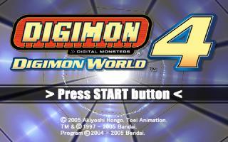 Screenshot Thumbnail / Media File 1 for Digimon World 4 (USA)