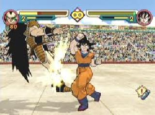 Screenshot Thumbnail / Media File 1 for DragonBall Z - Budokai 2 (USA)