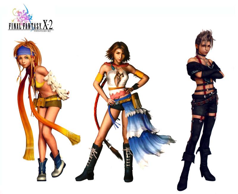 Final Fantasy X-2 (USA) ISO