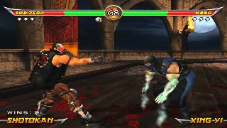 Screenshot Thumbnail / Media File 1 for Mortal Kombat - Armageddon (USA)