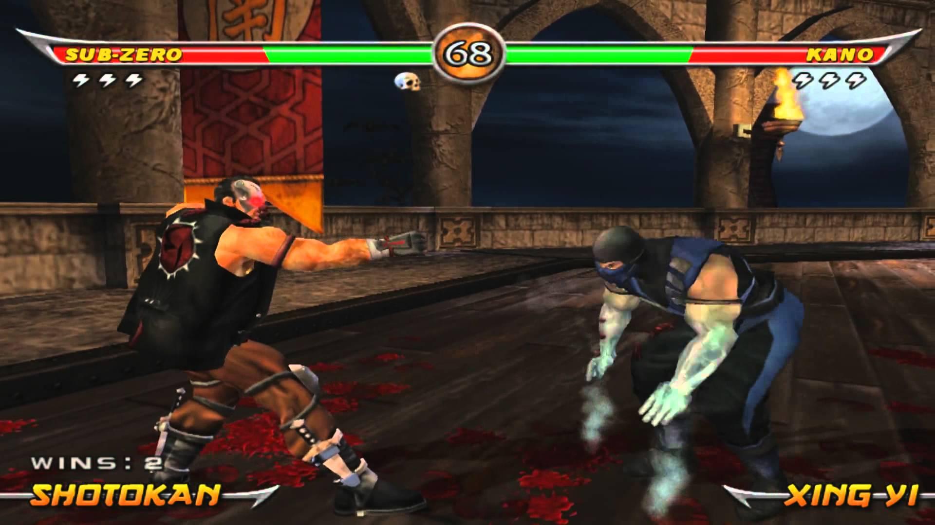 Mortal Kombat Armageddon Ps2 Fatalities Mortal Kombat - Armage...