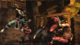 Screenshot Thumbnail / Media File 1 for Mortal Kombat - Shaolin Monks (USA)