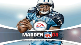 Screenshot Thumbnail / Media File 1 for Madden NFL 08 (USA)