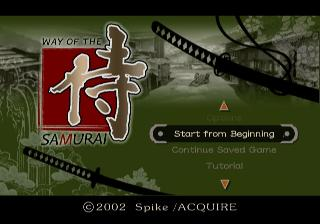 Screenshot Thumbnail / Media File 1 for Way of the Samurai (USA)