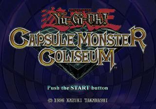 Screenshot Thumbnail / Media File 1 for Yu-Gi-Oh! Capsule Monster Coliseum (USA)