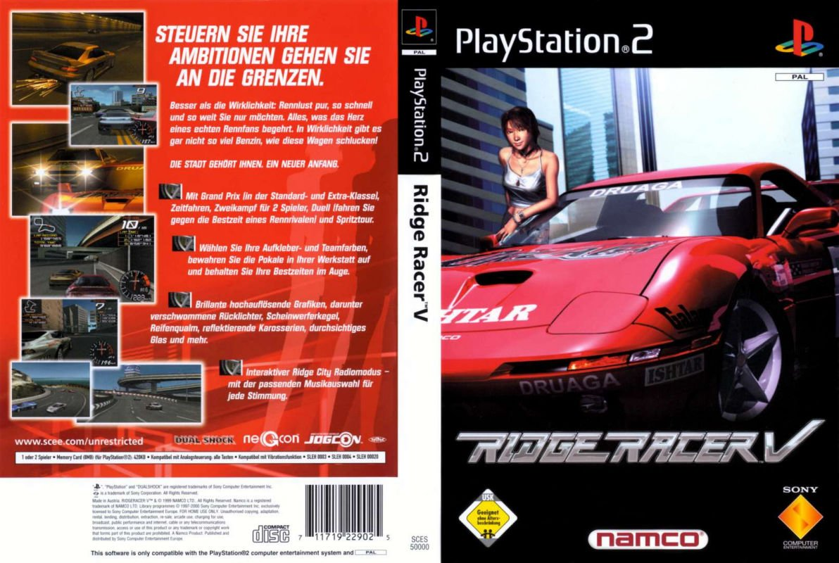 Uploaded by Ridge Racing v Ps2