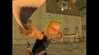 Screenshot Thumbnail / Media File 1 for Shonen Jump's One Piece - Grand Battle (USA)