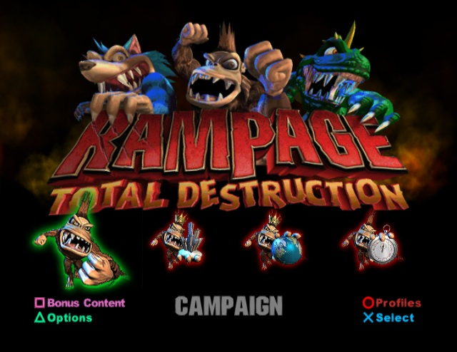 Cheat Rampage Ps2