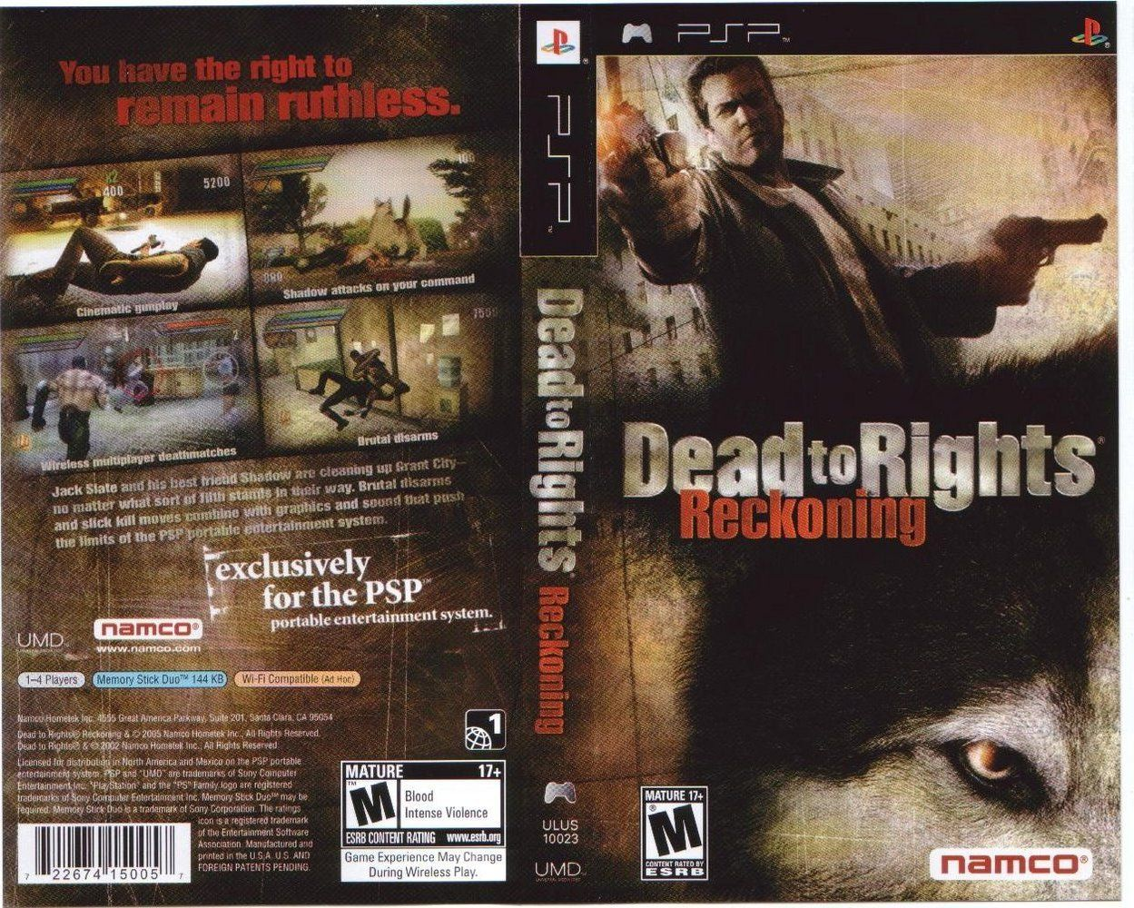 Dead To Rights Reckoning Usa Iso