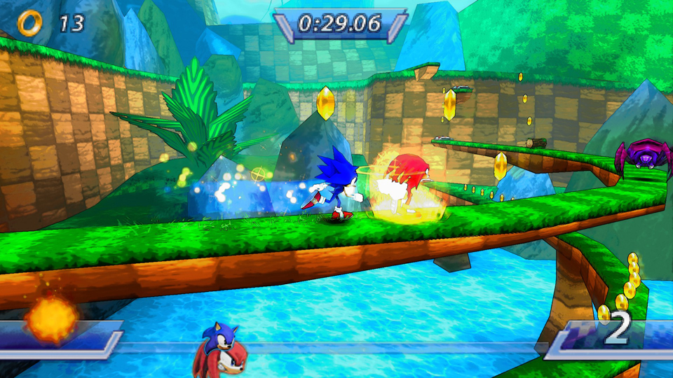 3 For Sonic Rivals Usa