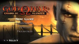 Screenshot Thumbnail / Media File 1 for God of War - Chains of Olympus (USA)