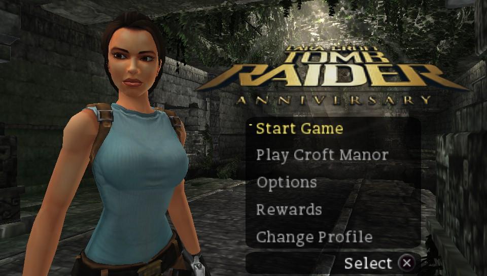 Tomb Raider - Anniversary (Europe) ISO < PSP ISOs   Emuparadise
