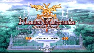 Screenshot Thumbnail / Media File 1 for Mana Khemia - Student Alliance (USA)