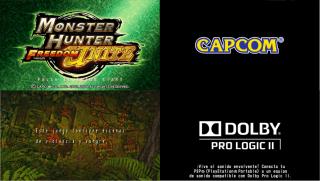 Screenshot Thumbnail / Media File 1 for Monster Hunter Freedom Unite (USA)