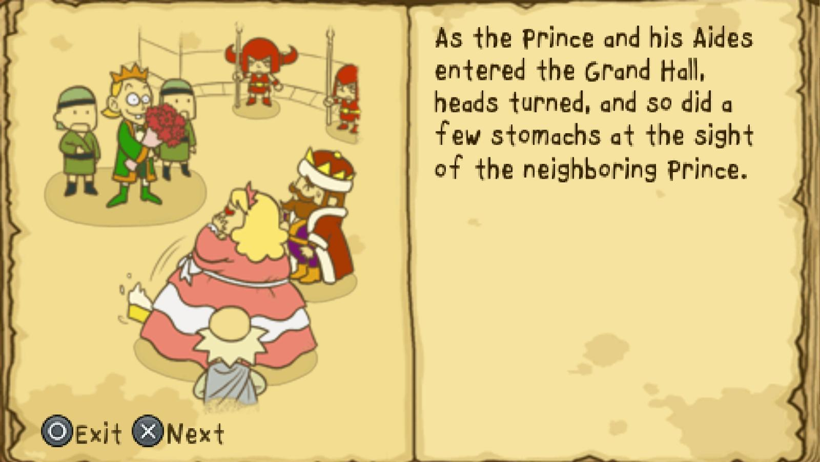 Gorgeous. fat princess psp iso was