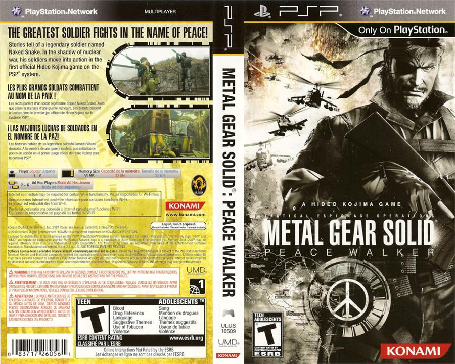 metal gear solid peace walker guide