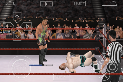 FREE DOWNLOAD PSP ISO AND CSO GAMES WWE Smackdown Vs Raw