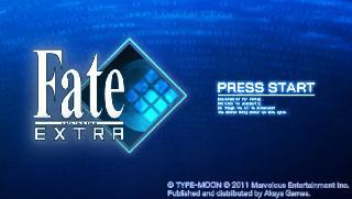 Screenshot Thumbnail / Media File 1 for Fate Extra (USA)