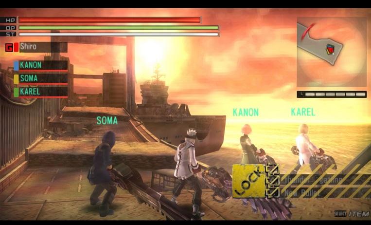 Gods Eater Burst ~ PSP Game ISO