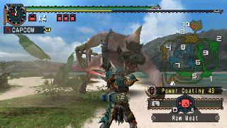 Screenshot Thumbnail / Media File 1 for Monster Hunter Freedom 2 (USA)