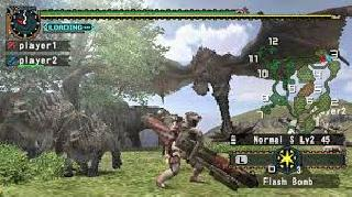 Screenshot Thumbnail / Media File 1 for Monster Hunter Freedom 2 (USA)