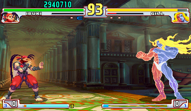 Street fighter 3 third strike mame