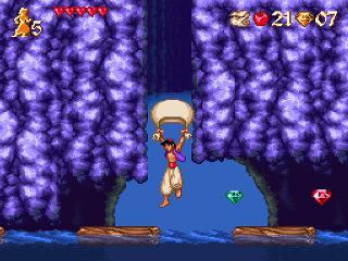 Screenshot Thumbnail / Media File 1 for Aladdin (USA)