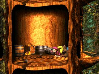 Screenshot Thumbnail / Media File 1 for Donkey Kong Country 3 - Dixie Kong's Double Trouble! (USA) (En,Fr)