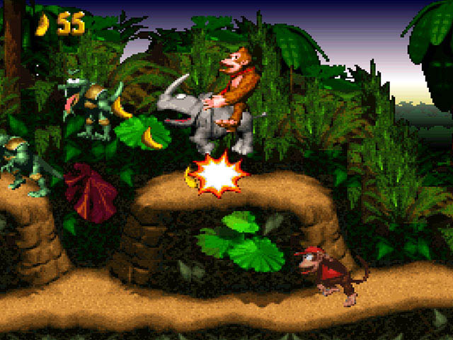 donkey kong country 3 snes rom: