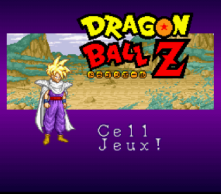 Screenshot Thumbnail / Media File 1 for Dragon Ball Z - La Legende Saien (France)