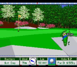 Screenshot Thumbnail / Media File 1 for Harukanaru Augusta 2 - Masters (Japan)