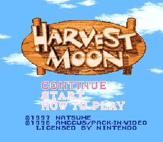 Screenshot Thumbnail / Media File 1 for Harvest Moon (USA)