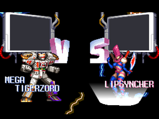 Screenshot Thumbnail / Media File 1 for Mighty Morphin Power Rangers - The Fighting Edition (USA)
