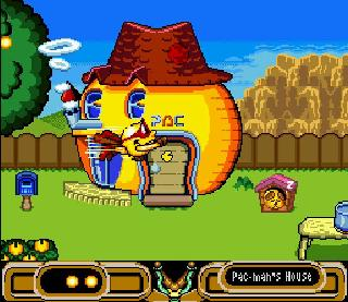 Screenshot Thumbnail / Media File 1 for Pac-Man 2 - The New Adventures (USA)